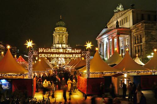 Christmas Market Gendarmenmarkt / 1