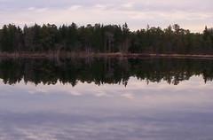 Reflection lake (pooh4jc) Tags: lake nature water woods reflextion