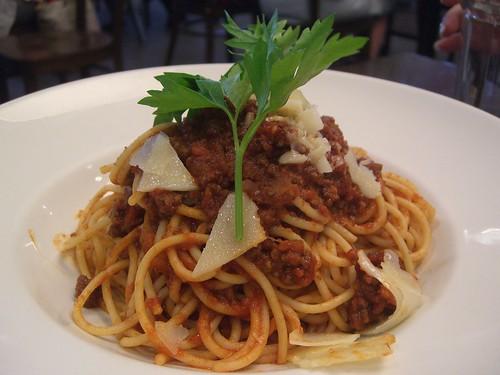 Spaghetti Bolognese - Michaelangelo, Aspendale Gardens© flickr.com/avlxyz