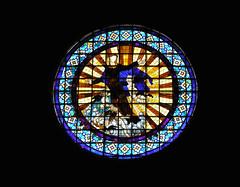 Roseton de la Catedral de Gerona (Luis Sanz) Tags: catedral iglesia olympus gerona roseton c765 wetraveltheworld