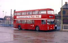 PMT Foden NC, WVT 900S on Newcastle Bus Station. (Renown) Tags: bus newcastle nc coach under busstation lyme foden pmt northerncounties wvt900s