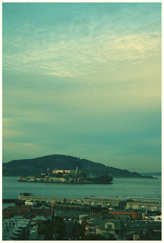 Alcatraz Cross Processed