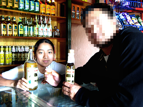 Mezcal Shop in Oaxaca run by a 12-year old