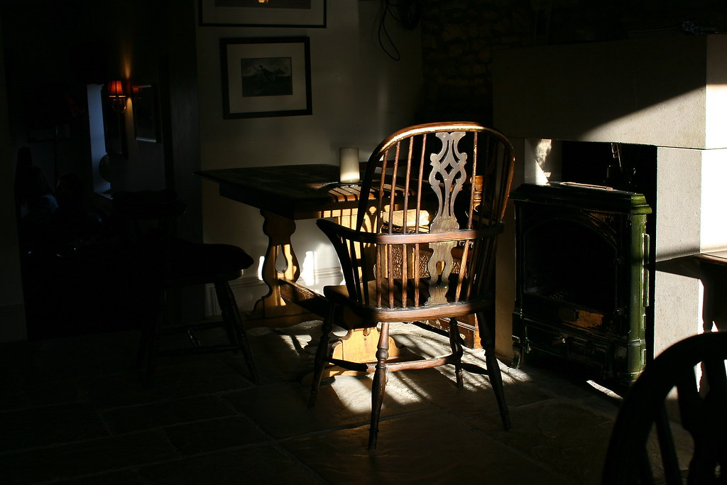 Chair in the Westcote Arms