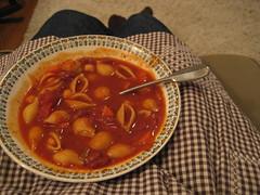 i made soup