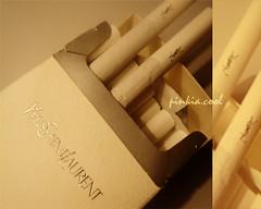 (D o 7 ε) Tags: smoke bad ysl nosmoking smoker yvessaintlaurent dangers giveup segaret stopmoking