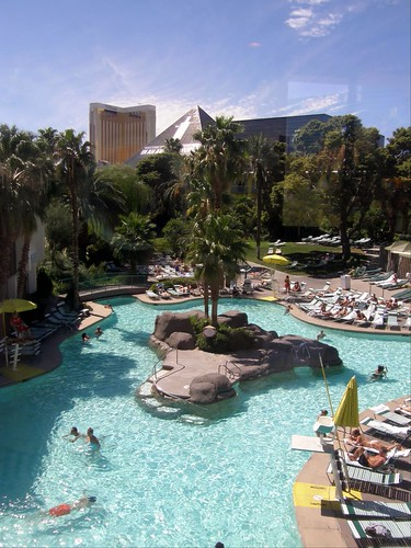 The Tropicana Pool