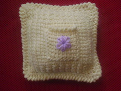 Keepsake Pocket pillow-front