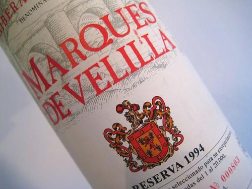 1994 Marques de Velilla