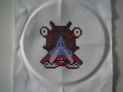 Droll (benjibot) Tags: crossstitch crafts videogames nes dragonwarrior
