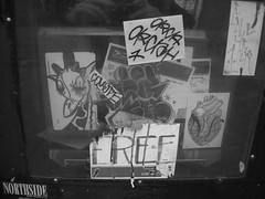 (ReppinDa415ripaj) Tags: sanfrancisco coyote graffiti orca westportal giraffa enyer nwpaperstand haveheartivk