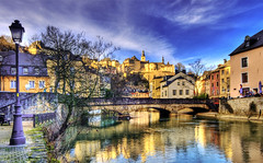 Alzette River (Wolfgang Staudt) Tags: door new old windows winter sun reflection sunshine clouds stairs river nikon sandstone europa europe afternoon capital sunday wolken sigma luxembourg fluss reflexions spiegelung luxemburg sundayafternoon alzette festung grund neumnster saarlorlux stadtluxemburg luxemburgo nachmittag touristoffice luxembourgcity kulturhauptstadt ltzebuerg luksemburg wolfgangstaudt 66111   uelzecht ptrussetal nikond300 eyeofthephotographer goldstaraward villedeluxembourg stadltzebuerg    haaptstad festungsmauern quattropole grosherzogtum groussgaass    flss nikonflickraward