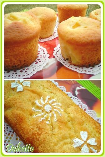 mix cake ananas mango
