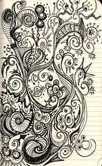 "Moleskine Doodle.  Boston to Philadelphia (Stephanie ""Biffybeans"" Smith) Tags: art philadelphia moleskine boston notebook airplane skin journal doodle marker mole castel moleskin faber skine biffybeans"