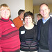 Cheryl Frutchman, Joan Stern & Jack share a laugh at the Persow-Meloy event