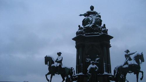 Maria Theresia Platz Wien, Vienna
