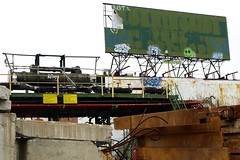Abandoned Oil Terminal, Unionport, Bronx NYC (jag9889) Tags: nyc ny newyork abandoned graffiti dock industrial tank bronx terminal billboard oil trucks loading zeregaavenue y2008 unionport jag9889
