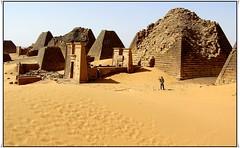 Meroe, Sudan (Grete Howard) Tags: world africa david heritage desert sudan famous conservation unesco pyramids cultural important outstanding meroe davidhoward unescoheritagesites environenment davidpicnik