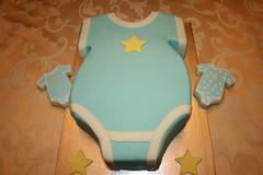 Baby Shower Onesie Cake (irresistibledesserts) Tags: cake babyshower onesie