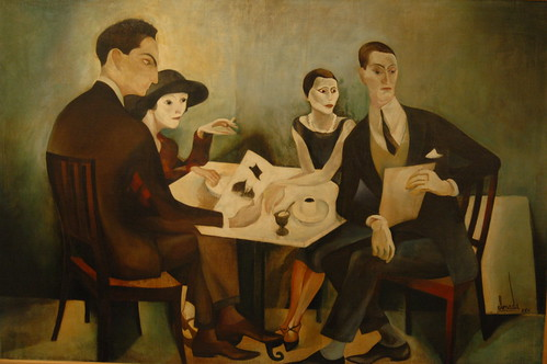 José de Almada Negreiros: Auto-Retrato num grupo (1925)