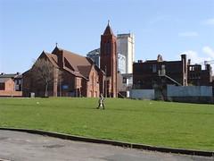 St Gabriel's Church, Beaufort Street, Toxteth, Liverpool 8. (philipgmayer) Tags: liverpool toxteth dingle stgabriel church school demolished 1000
