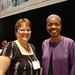 Karen Rahn and Sharon Washington