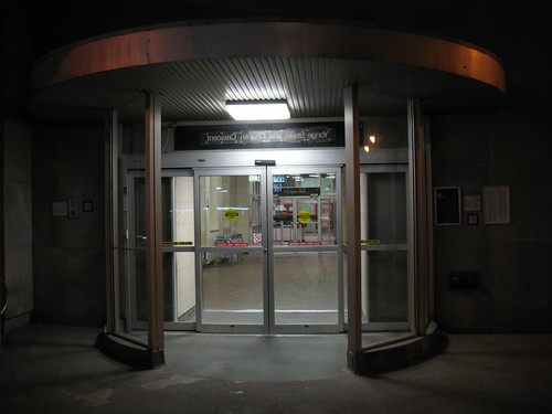Davisville Entrance, First Hour of the TTC Strike