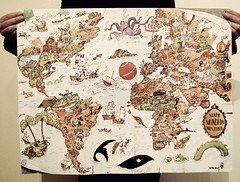 Adventure World Map
