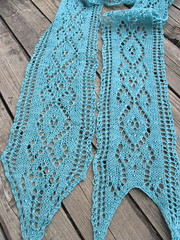 Finished: Melusine Scarf
