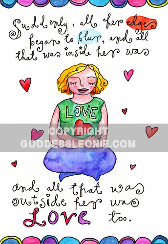 Love Goddess: Art print