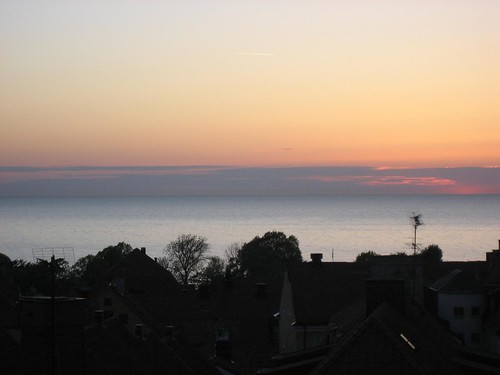 Sunset over Visby again