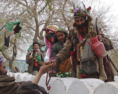 Two Afghan shaman