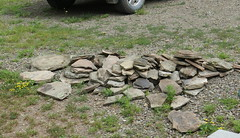 Wall Stones from up the hill