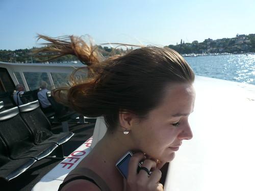 blog voyage australie sydney whv backpacker travel ferry vent lise cheveux