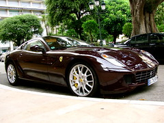 599 Pt. 6 (CarSpotter) Tags: red brown france st silver jean cannes ferrari monaco cap beaulieu ferrat maranello berlinetta 599 fiorano 599gtb f599 carspotter