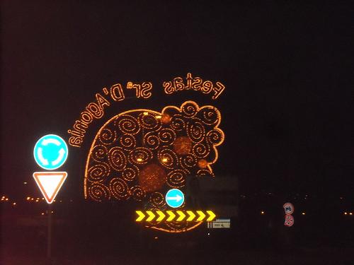 Iluminação na Romaria de Nossa Senhora d'Agonia 2009