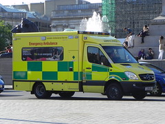 London Ambulance Service | Mercedes Sprinter | Brand New Emergency Ambulance | LX11 AEA (EmergencyVehiclePics1) Tags: new las blue london car race hospital lights mercedes pier video amazing call respect bell fast run ambulance led yelp leds shape brand siren iveco callout shout 999 wail on the officers bullhorn twotone lifesavers zafira sprinter strobes airhorn rrv