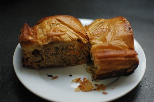 Beef & pork sausage roll