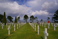 American Cemetery Omaha Beach (tollen) Tags: france wwii normandy dday obama veterans veteransday omahabeach americancemetery june6944 collevillebeach