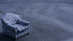 Upon An Oil Painting (Kurrs) Tags: blue painterly chair deleteme10