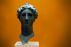 Victory (Neil Bernhart [dextr]) Tags: travel museum bronze d70s nike greece bust nikkor acropolis 2007 nikkorlens 85mmf18d stoaofattalos nikkor85mmf18d museumoftheancientagora ©neilbernhart neilbernhartcom