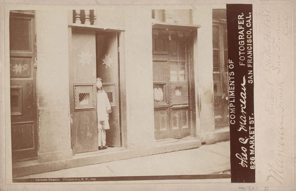 Chinatown Brothel, San Francisco circa 1890