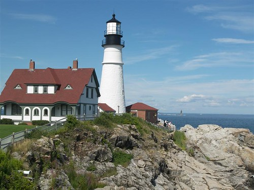 Portland, Maine - Most Photographed Lighthouse by Go Card USA.