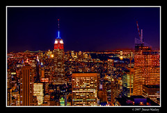 The City that Never Sleeps (James Neeley) Tags: nyc newyorkcity ny newyork bravo rockefellercenter bigapple hdr topoftherock themoulinrouge 5xp citythatneversleeps mywinners aplusphoto jamesneeley ostrellina