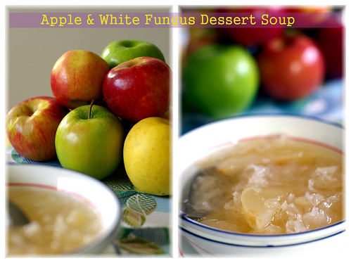 apple white fungus tongsui