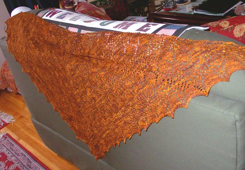 ISE5 shawl from Ontario, Canada