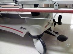 hospital bed (katerba) Tags: wheel hospital bed lift floor pump roll emergency