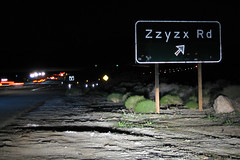 Zzyzx Road along the I-15 in California (slworking2) Tags: california road ca street sign highway desert mojave freeway interstate zzyzx rd i15 barstow zzyzxrd zzyzxroad sbcusa