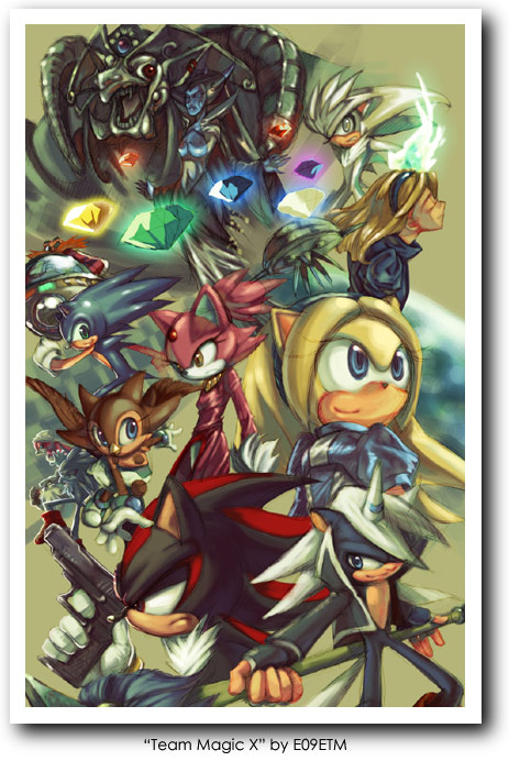 The Most Stunning Sonic The Hedgehog Artwork Retrogaming With Racketboy