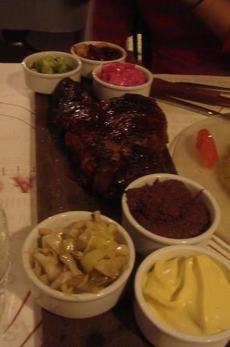 dinner at La Cabrera